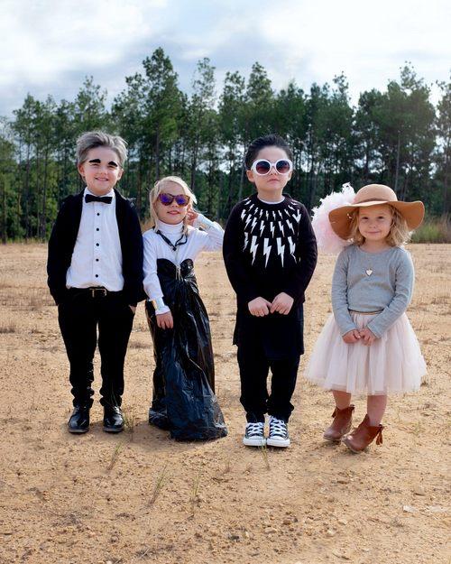 Mom Made DIY Schitt's Creek Costumes For Her Kids