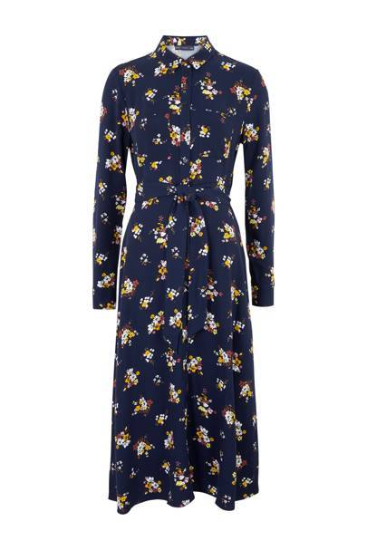 This floral print midi from M&S is the most popular dress of autumn