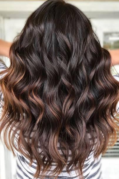 Tortoiseshell hair is the pretty, high gloss trend for autumn