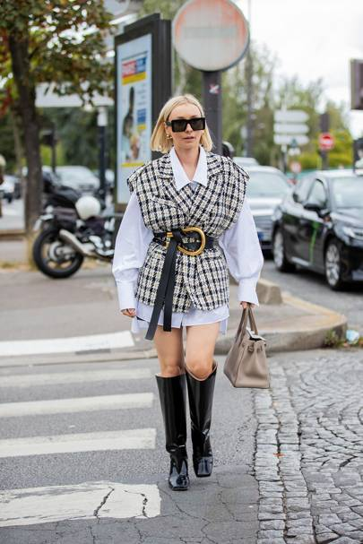 What the coolest girls are wearing in Paris RN