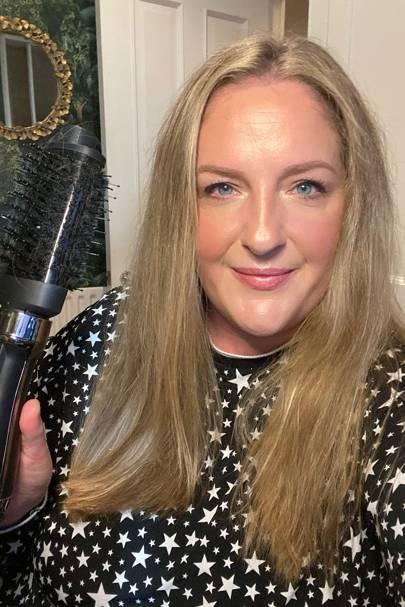Magical hair-drying brush has saved my WFH hair