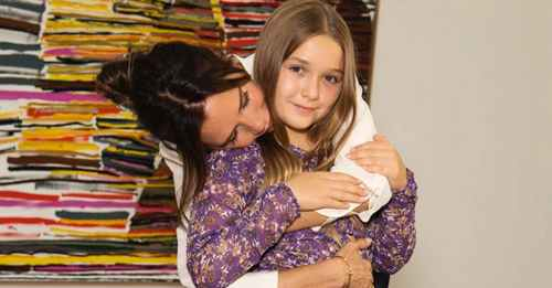 Victoria Beckham reveals daughter Harper 'can contour like a professional'