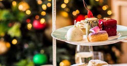 The fanciest Christmas afternoon teas in London