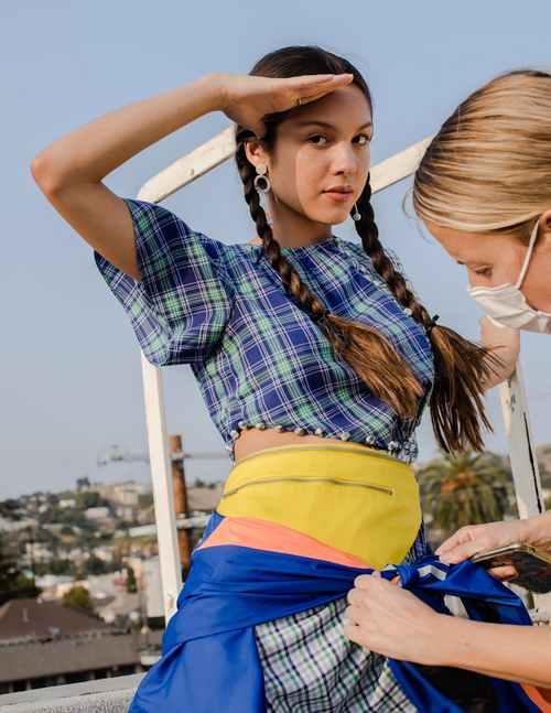 Olivia Rodrigo's stylist focuses on sustainable fashion